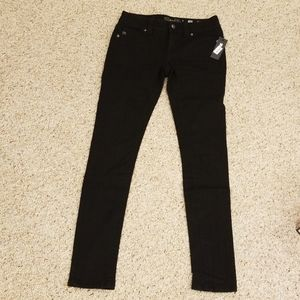 NWT! Miss Me Black Size 25 Mid-rise Skinny Jeans